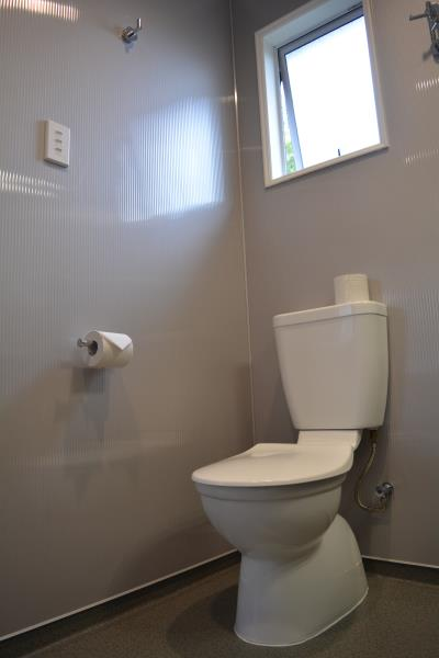 Toilet in Standard One Bedroom Apartment