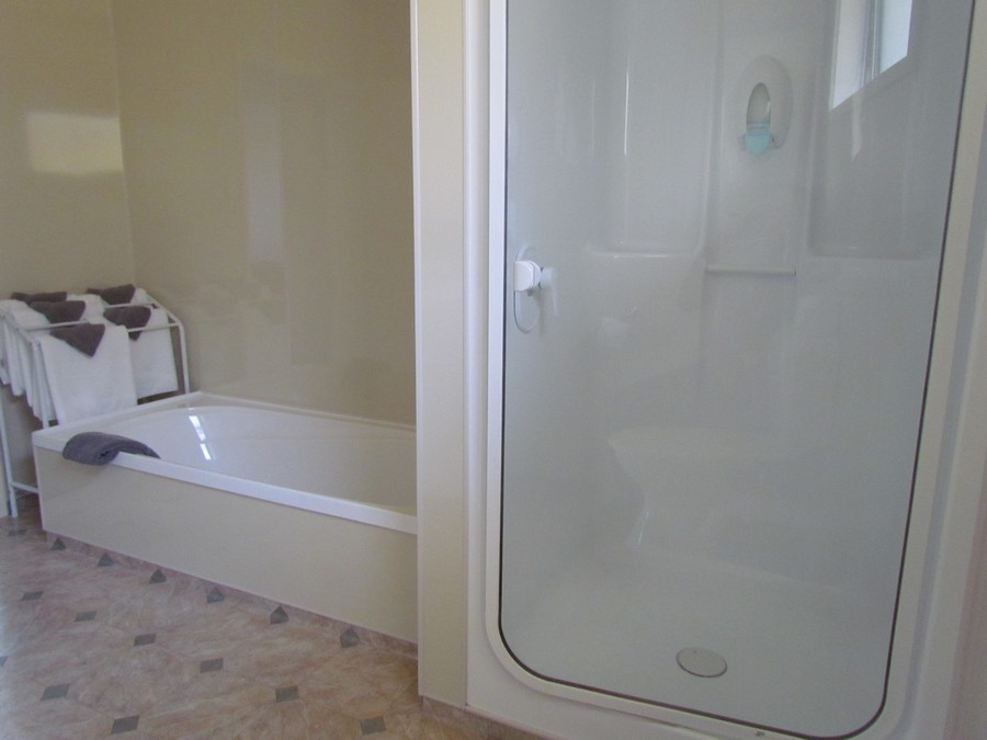 Separate Shower and Bath