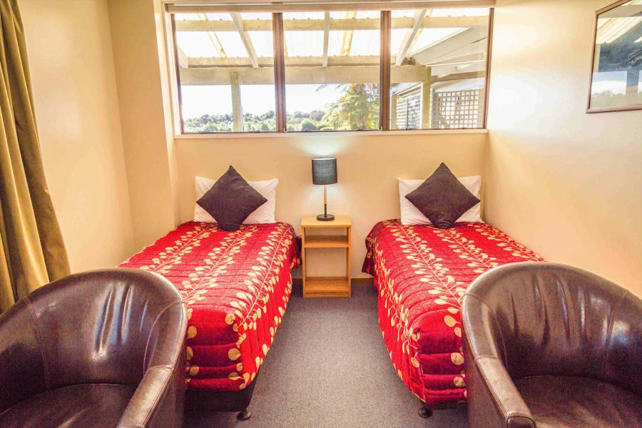 Two Single Beds in Lounge